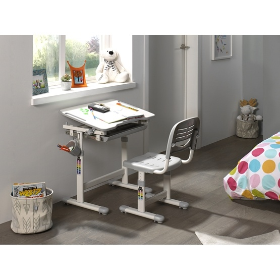 Skrivbord - Comfortline 201 - Grå