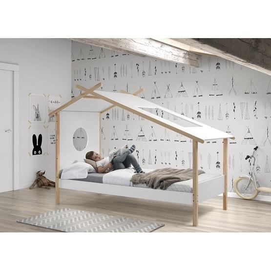 Säng - Tätsäng Cocoon Tipi - 90x200 Cm - Vit