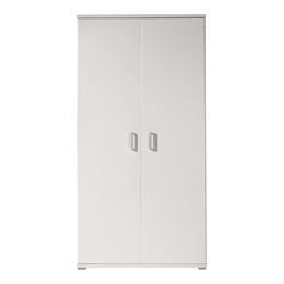 Garderob - Milan - 2 Dörrar - Vit