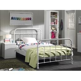 Säng - New York - 120x200 Cm - Vit