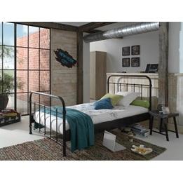 Säng - New York - 120x200 Cm - Svart