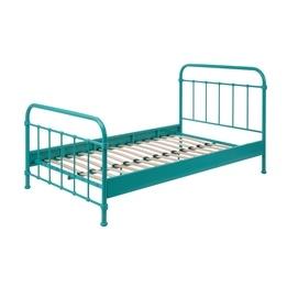 Säng - New York - 120x200 Cm - Turkos