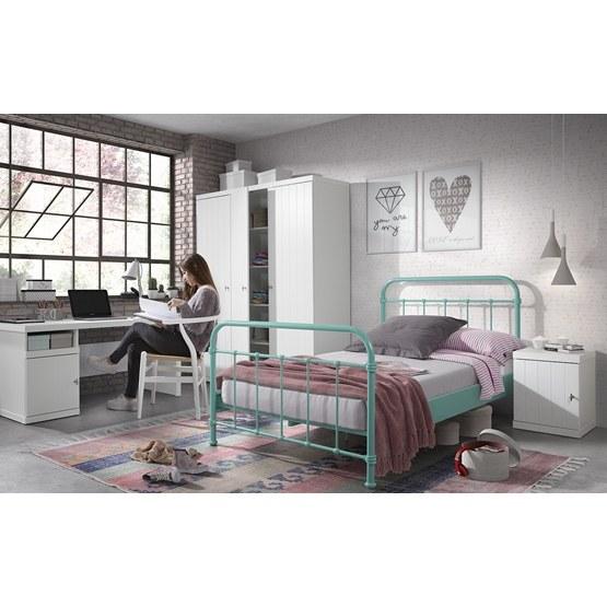 Säng - New York - 120x200 Cm - Grön