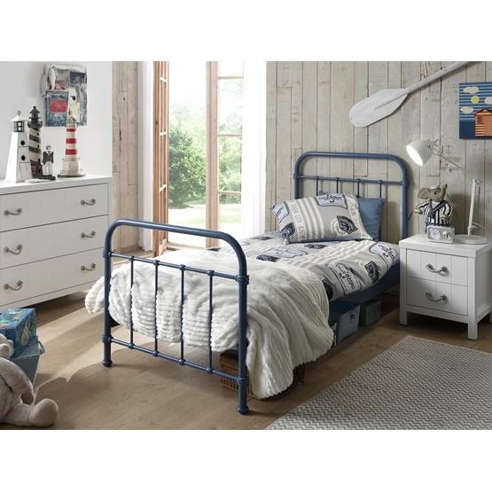 Säng - New York - 90x200 Cm - Blå