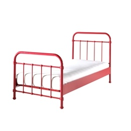 Säng - New York - 90x200 Cm - Röd