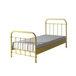 Säng - New York - 90x200 Cm - Gul