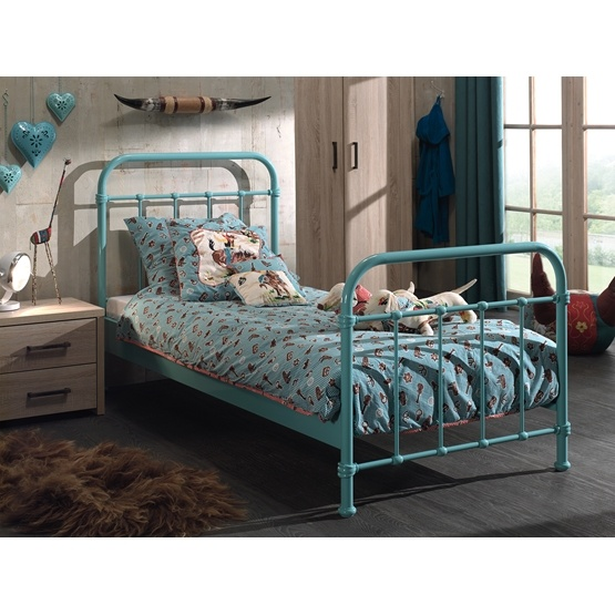 Säng - New York - 90x200 Cm - Grön