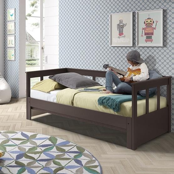 Säng Med Soffa - Pino - Taupe