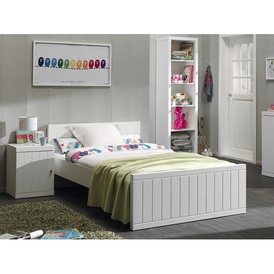 Säng - Robin 90x200 Cm - Vit
