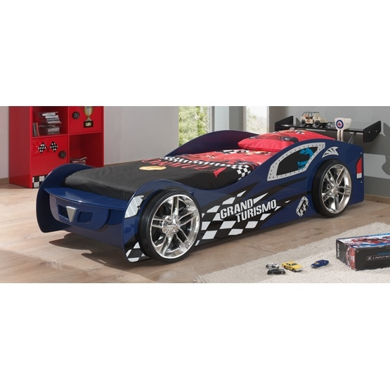 Enkelsäng - Grand Turismo 90-200 Cm - Blå