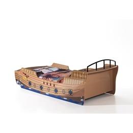 Enkelsäng - Piratsäng 90x200 Cm - Båt