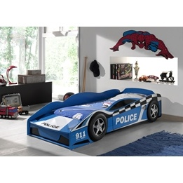 Juniorsäng - Polisbil 70x140 Cm