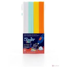3Doodler, Fire & Ice Refill(Simply White, Aqua Mint, Lemon Zest, Tangerine Tang)
