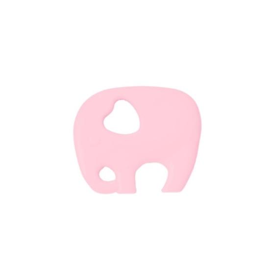 AddBaby, Bitring Elefant Ljusrosa