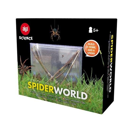 Alga Science, Spiderworld