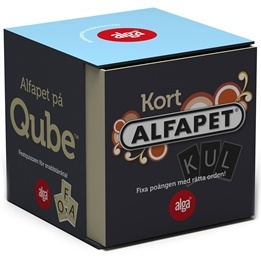 Alga, Alfapet kortspel QUBE