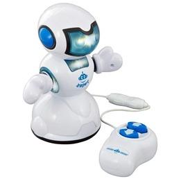 Go go Buddies, Robot med sladd Blå 18 cm