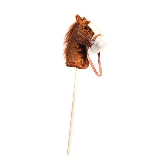 Övrigt lek Käpphäst 95 cm ljusbrun