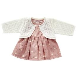 byASTRUP, Dockkläder - Dress & Cardigan Knit 40-45 cm