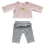 byASTRUP, Dockkläder - Pants & Blouse Butterfly 30-35 cm