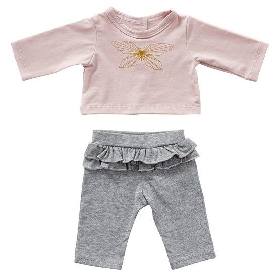 byASTRUP, Dockkläder - Pants & Blouse Butterfly 46-50 cm