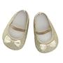 byASTRUP, Dockkläder - Dockskor Glitter Guld 40-45 cm