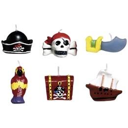 Figurljus, Pirat, 6 st