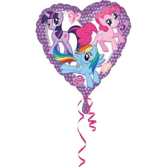 My Little Pony Heart Ballong 43cm