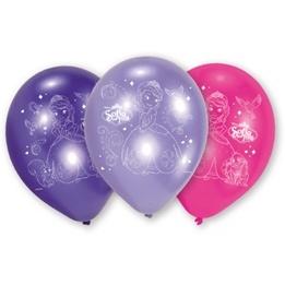 Disney Sofia den första, Ballonger 6-pack 23 cm