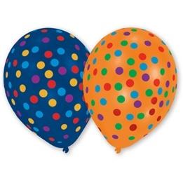 Ballonger, Konfetti 8-pack 25 cm