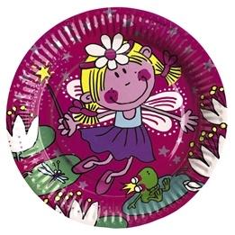 Funky Fairy, Tallrik, 23 cm, 8 st