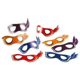 Ninja Turtles, Kalasmasker 8-pack