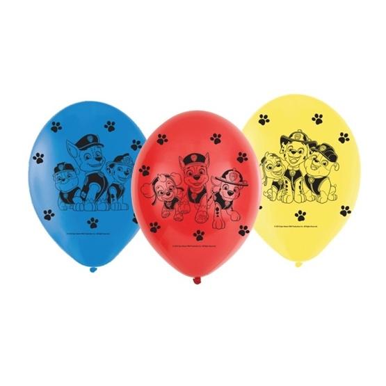 Paw Patrol Ballonger 6-pack