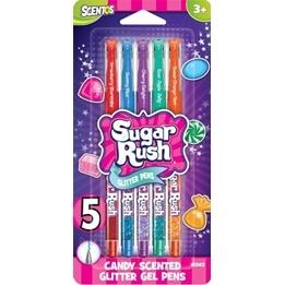 Sugar Rush, Gelpennor Glitter