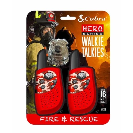 Cobra, Walkie Talkie Fire & Rescue