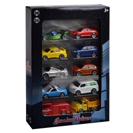Junior Driver, Bilar 10-pack