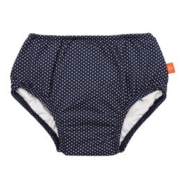 Splash & Fun, Badblöja - Polka Dots navy 18 mån