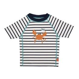 Splash & Fun, Kortärmad UV-tröja - Sailor navy 24 mån