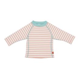 Splash & Fun, Långärmad UV-tröja - Sailor peach 12 mån