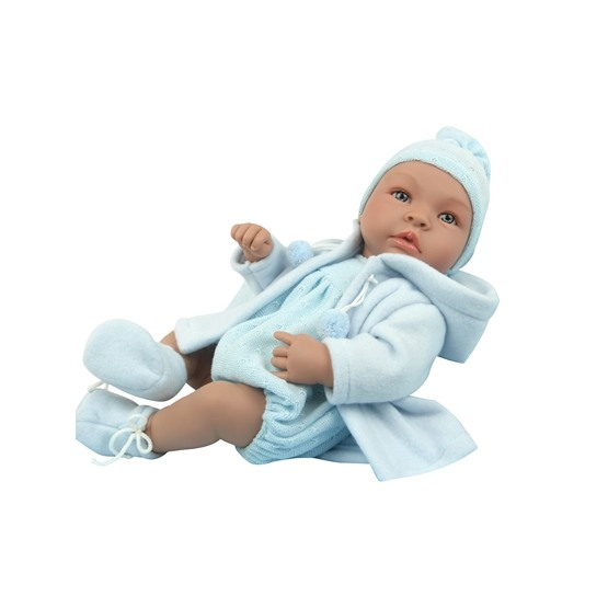 Asi, Babydocka - Leo ljusblå 46 cm