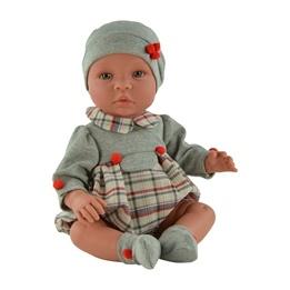 Asi, Babydocka - Leo 46 cm Rutiga Kläder