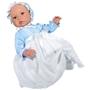 Asi, Babydocka Leo 46 cm med dopklänning