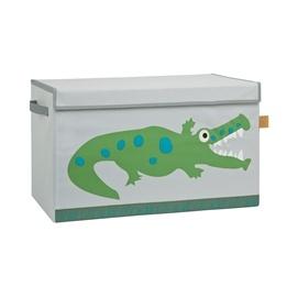 Lässig, Förvaringslåda med lock - Krokodil