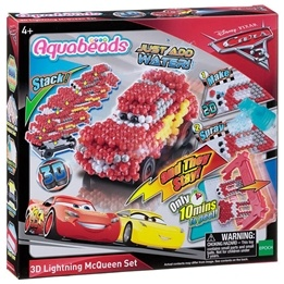 Aquabeads, Disney Cars 3 - 3D Lightning McQueen