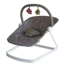 BabaBing, Baby Bouncer Float grå