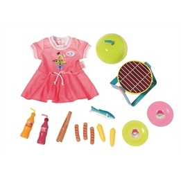 Baby Born, Play&Fun Barbeque Set
