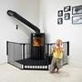 Baby Dan, FLEX L 90-223 cm svart