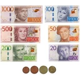 Beta Pedagog, Mynt och sedlar 2017
