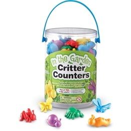 Counters, smådjur, 72 st