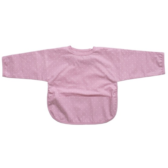 Summerville, Haklapp med Ärm Prickig Soft Pink